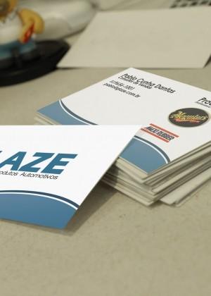 Cartão de Visita – Glaze